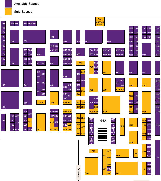 fedforum floor plan