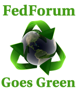 FedForum Goes Green